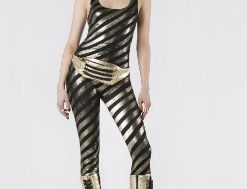 Inessa Gold Black Chain